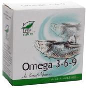ProNatura Omega 3-6-9 (20 comprimate)