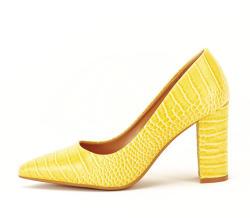 SOFILINE Pantofi galbeni cu imprimeu Dalma (4512 YELLOW-36)