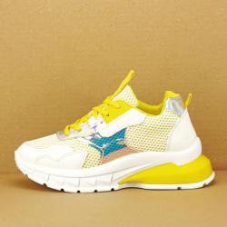 SOFILINE Sneakers albi cu galben Taylor (2002 YELLOW -40)