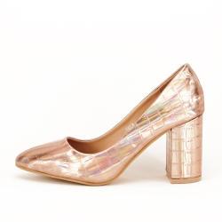 SOFILINE Pantofi champagne cu imprimeu reptila Fancy (A137 CHAMPAGNE - 39)