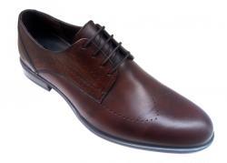 Ellion Pantofi barbati lux - eleganti din piele naturala maro - SIR011ML (SIR011ML)