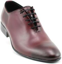 Ellion Pantofi barbati lux - eleganti din piele naturala bordo - 024VIS (024VIS)