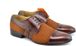 Ellion Pantofi barbati eleganti din piele naturala - 032MCOMB (032MCOMB)