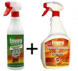 Envira Bio Power poloska és ágyi poloskairtó 2 részes csomag (0, 5 L permet + 1 L ágyi poloskaírtó)