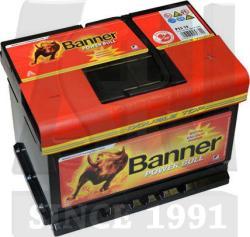 Banner Power Bull 55Ah 480A Jobb+ (P5519)