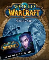 Blizzard Entertainment World of Warcraft Prepaid Gamecard - 30 day