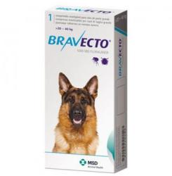 MSD Bravecto 20-40 kg, 1 tableta masticabila x 1000 mg