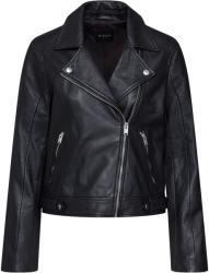 Selected femme Преходно яке 'slfkatie leather jacket b noos' черно, размер 40