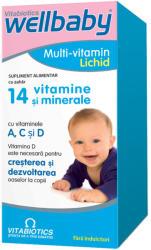 Vitabiotics Sirop cu 14 vitamine si minerale WellBaby, 150 ml, Vitabiotics