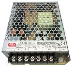 MEAN WELL LRS-100-24 Tápegység 1 fázisú, 100W, 24V DC kimenettel, 4, 5A, 85. . . 264 V AC, 50/60 Hz) ( LRS-100-24 ) (MEANWELL_LRS-100-24)