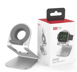 AhaStyle ST03 aluminium Apple Watch állvány, ezüst (ST03-SLV)