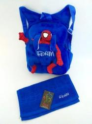 Toy World Ghiozdan plus personalizat Spiderman+prosop gradinita personalizat (KT 781)