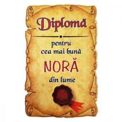 AleXer Magnet Diploma pentru Cea mai buna NORA din lume, lemn