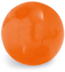 Everestus Minge de plaja gonflabila, translucida, Everestus, EGB037, pvc, portocaliu (EVE07-98219-128)
