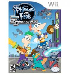 Disney Phineas and Ferb Across the 2nd Dimension (Wii)