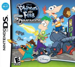 Disney Phineas and Ferb Across the 2nd Dimension (Nintendo DS)