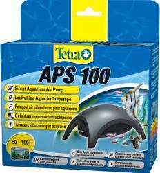 Tetra ГЕРМАНИЯ / germany Tetra APS Aquarium Air Pumps black - много тиха и изключително ефективна въздушна помпа - APS - 100 - черна (Tetra APS 100 Aquarium Air Pumps black въздушна помпа черна)