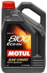 Motul 8100 Eco-lite 0W-20 (5 L)