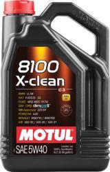 Motul 8100 X-Clean 5W-40 (5L)