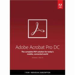 Adobe Acrobat Pro DC (1 User/1 Device) 65297924BA01A12