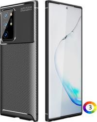 Samsung Galaxy Note 20 Ultra/Note20 Ultra 5G Удароустойчив Carbon Fiber Калъф и Протектор
