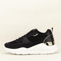 SOFILINE Sneakers negru cu imprimeu Georgia (9911 BLACK -38)