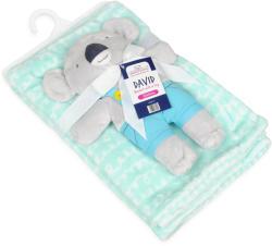 BABYMATEX Pătură cu jucărie Koala Mint 75x100cm (AGSTB0385-01)