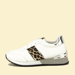 SOFILINE Sneakers alb Maya (CB-193 WHITE/SILVER -38)
