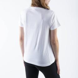 Champion Crewneck T-Shirt 113360 WW001 Alb L