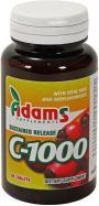 Adams Supplements Vitamina C-1000 cu macese 60tbl ADAMS SUPPLEMENTS
