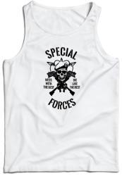 WARAGOD maieu pentru bărbați Special forces, alb 160g/m2