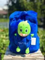 Toy World Ghiozdan plus personalizat Sopi- Eroi in Pijamale (KT 804)