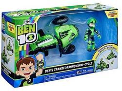 Playmates Toys BEN 10 VEHICUL EXTRATERESTRU CU FIGURINA Rustbuggy Ben (Bfire 77404)