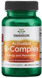 Swanson Activated B-Complex 60 Veg Capsules