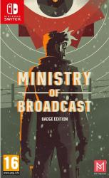 PM Studios Ministry of Broadcast [Badge Edition] (Switch)