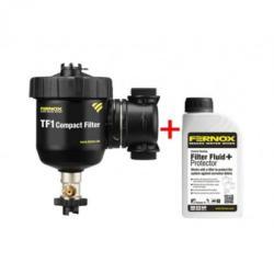 FERNOX Filtru anti-magnetita Fernox TF1 COMPACT + fluid protector (62357)