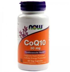 NOW Coenzima Q10 30mg. - CoQ10 - 60 capsule - ACUM ALIMENTE, NF3184 (NF3184)