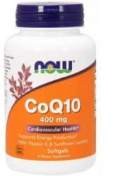NOW Coenzima Q10 400 mg. - CoQ10 - 30 drajeuri - ACUM ALIMENTE, NF3199 (NF3199)