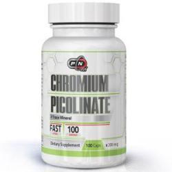 Pure Nutrition Picolinat mineral de crom - 100 capsule, Pure Nutrition, PN8996 (PN8996)