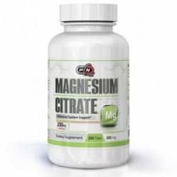 Pure Nutrition Citrat de magneziu mineral - 200 comprimate, Pure Nutrition, PN1989 (PN1768)