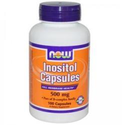 NOW Inositol - Inozitol 500 mg. - 100 capsule - ACUM ALIMENTE, NF0475 (NF0475)
