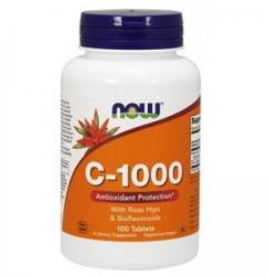 NOW Vitamina C-1000 - Vitamina C-1000 - 100 comprimate - ACUM ALIMENTE, NF0685 (NF0685)