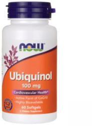 NOW Ubiquinol - Ubiquinol 100 mg. - 60 drajeuri - ACUM ALIMENTE, NF3142 (NF3142)