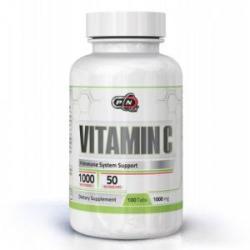 Pure Nutrition Vitamina C - 1000 cu șolduri de trandafir - 100 comprimate, Pure Nutrition, PN1990 (PN1890)