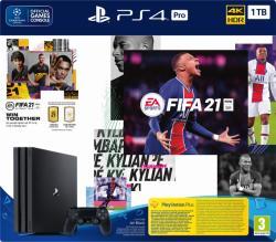 Sony PlayStation 4 Pro 1TB (PS4 Pro 1TB) + FIFA 21