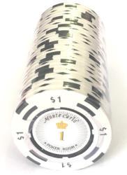MagazinulDeSah Jeton Poker Montecarlo 14 grame Clay, inscriptionat 1