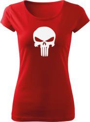 WARAGOD tricou de damă punisher, roșu 150g/m2