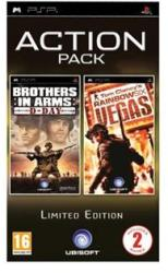 Ubisoft Action Pack: Brothers in Arms D-Day + Rainbow Six Vegas (PSP)