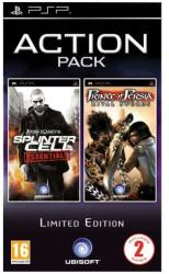 Ubisoft Action Pack: Tom Clancy's Splinter Cell Essentials + Prince of Persia Rival Swords (PSP)