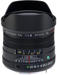 Pentax SMC PENTAX FA 31mm f/1.8 Limited (20290)